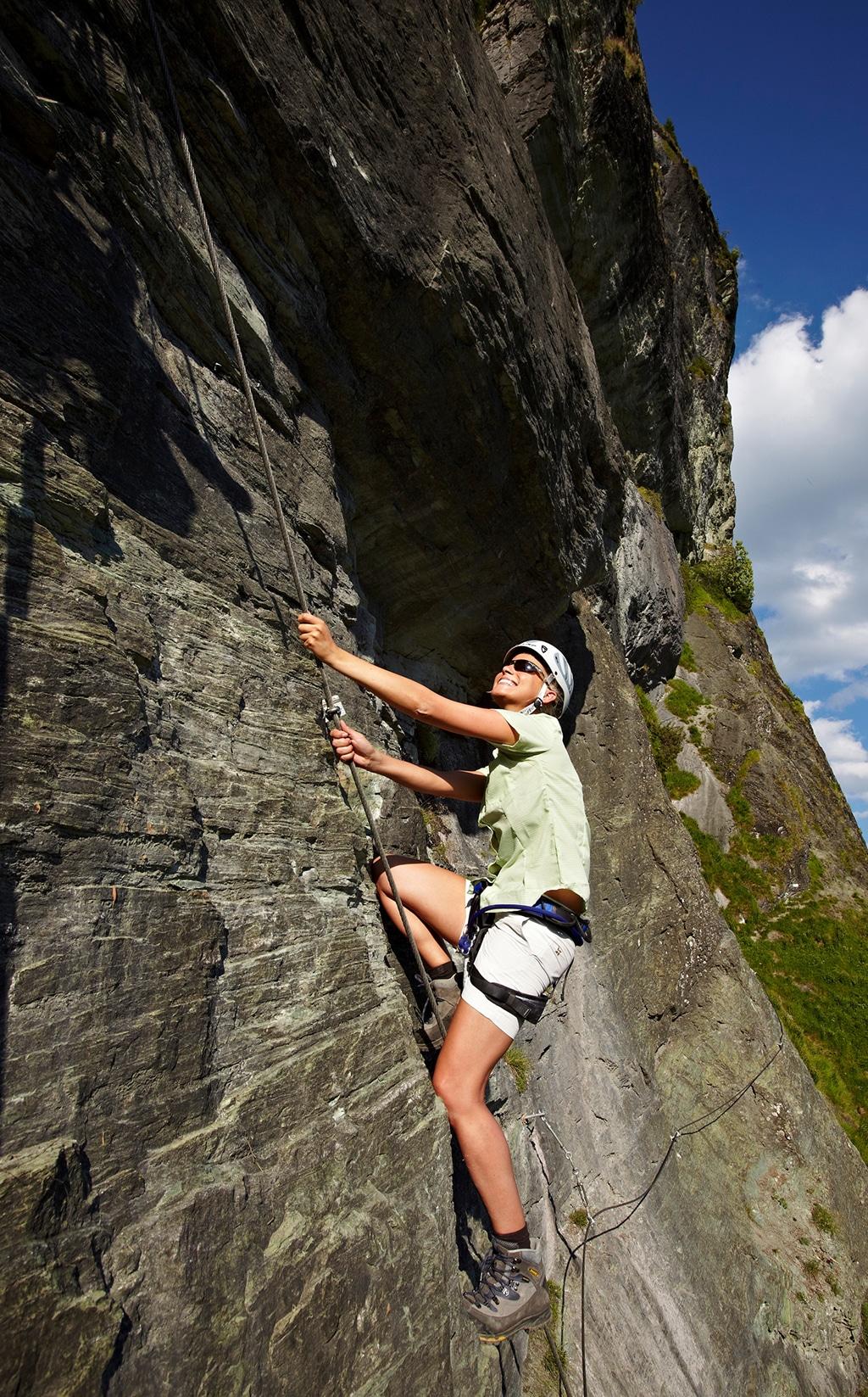 Großarltal Klettern