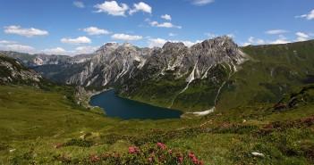 Urlaub Großarltal: Blick zum Tappenkarsee