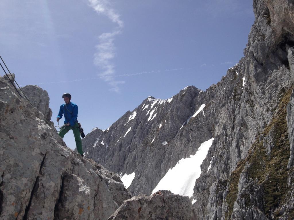 Der Wilde Kaiser: Alpinkletterkurs iim Kaisergebirge Tirol