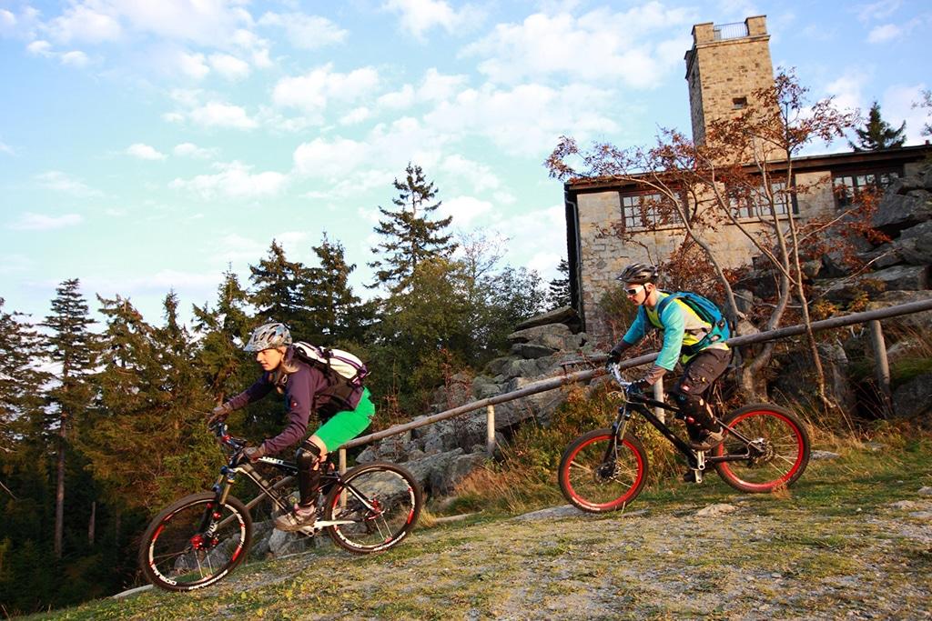 Mountainbike Fichtelgebirge