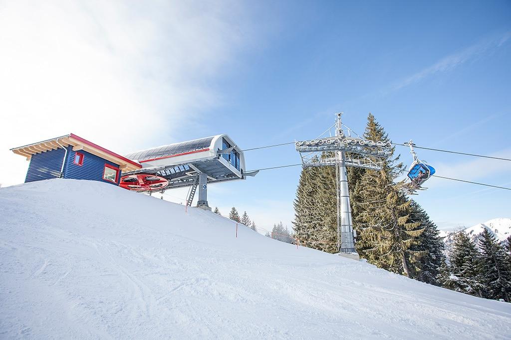 Das Skigebiet Ofterschwang Gunzesried