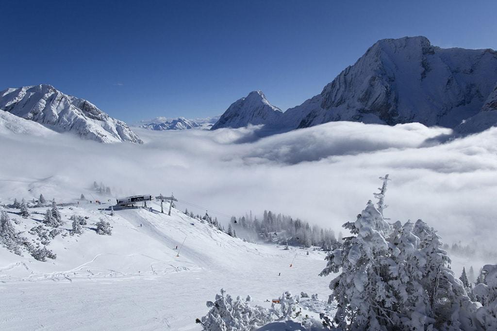 Ehrwald Skigebiet