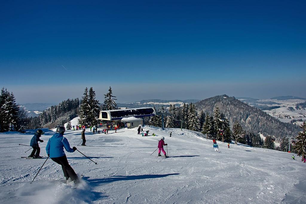 Skigebiet Hündle Allgäu