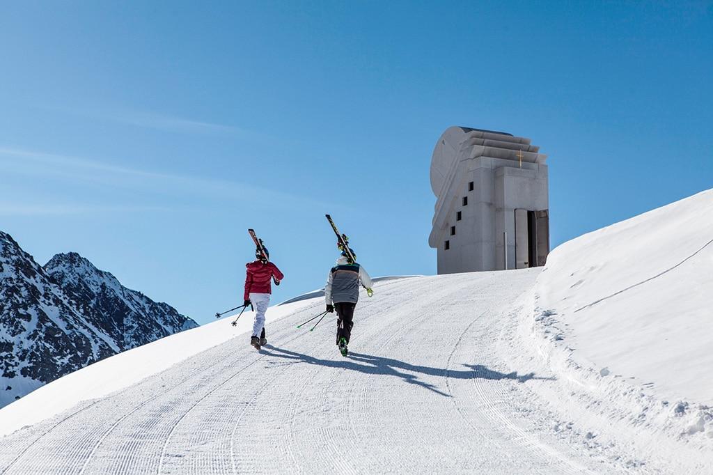 Pitztal Gletscher Skigebiet