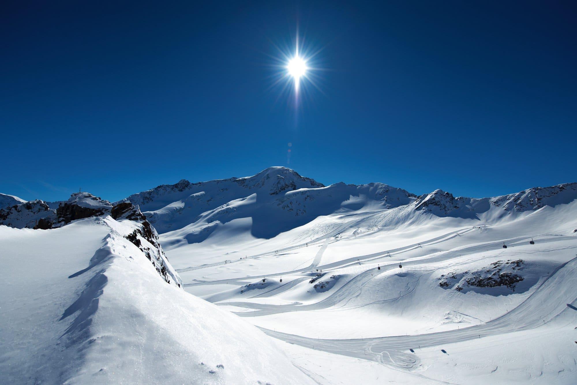 Kaunertaler Skigebiet