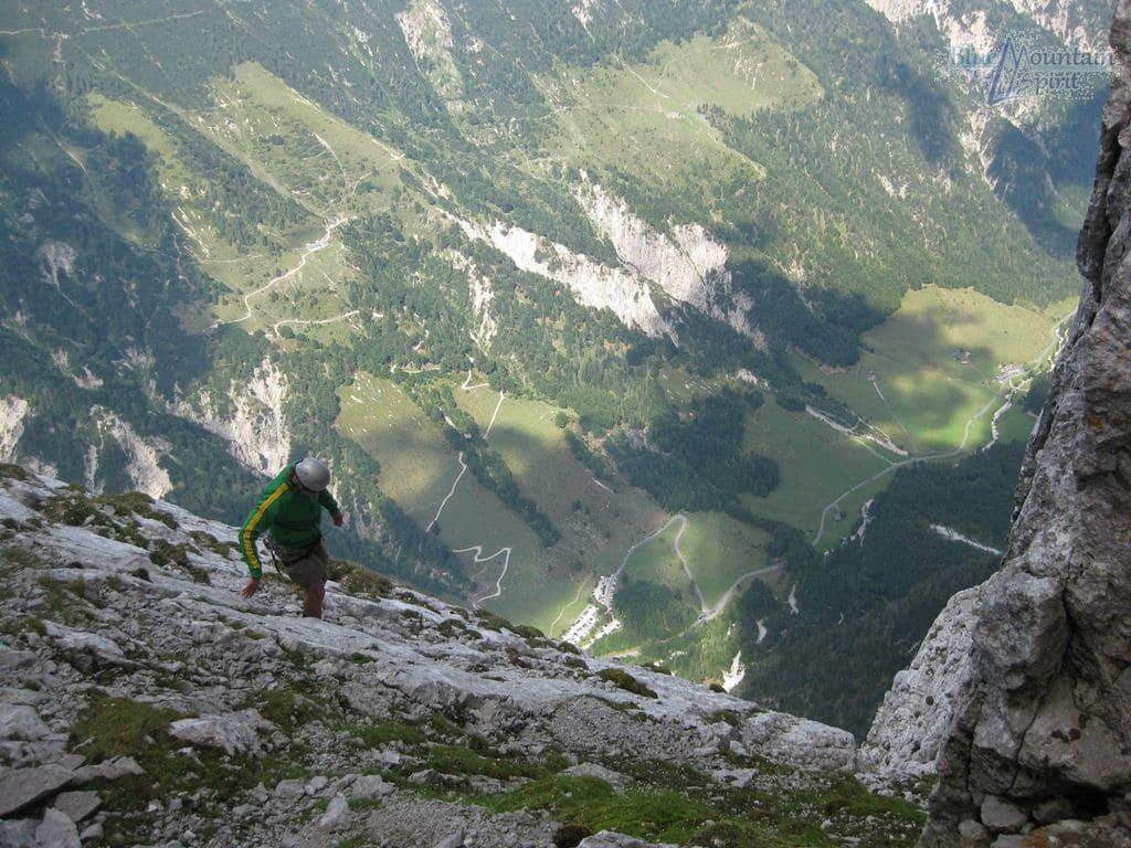 Klettern im Wilden Kaiser mit der Bergschule Blue Mountain Spirit