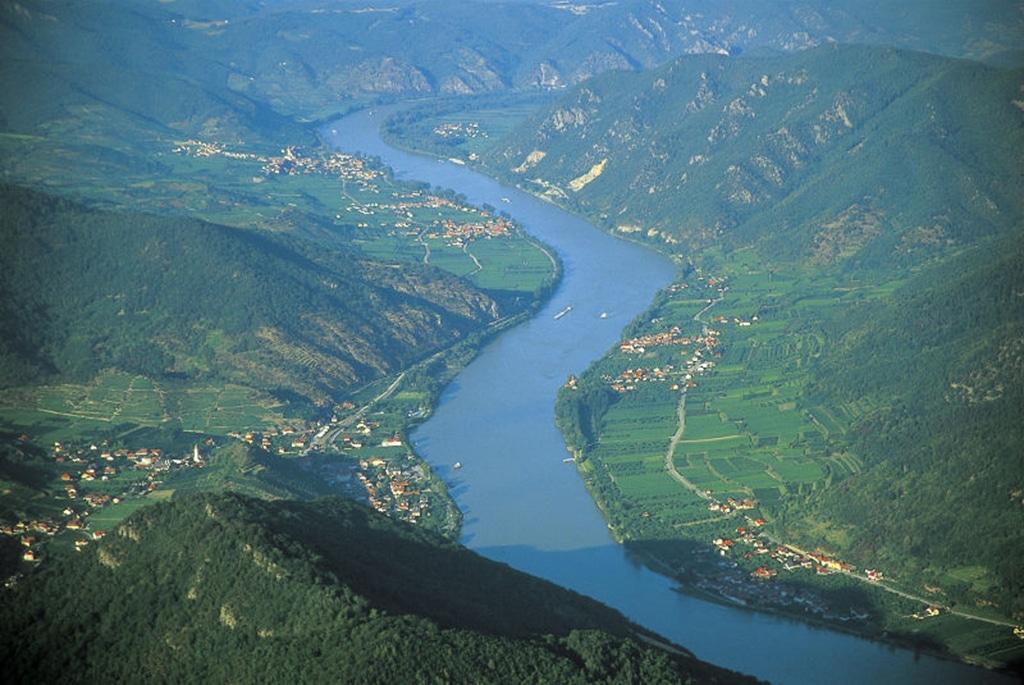 Die Donau in Österreich