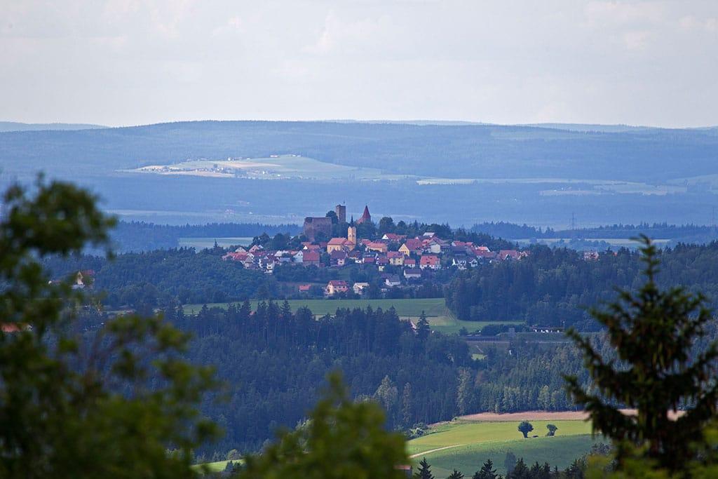 Leuchtenberg im Oberpfälzer Wald