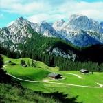 Wandern im Salzburger Saalachtal im Dreiländereck Salzburg, Tirol und Bayern