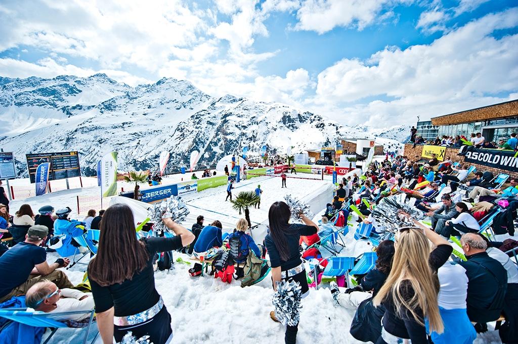 St Anton Arlberg Skigebiet