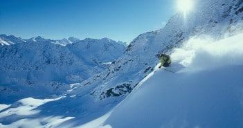 Skigebiet St Anton Arlberg