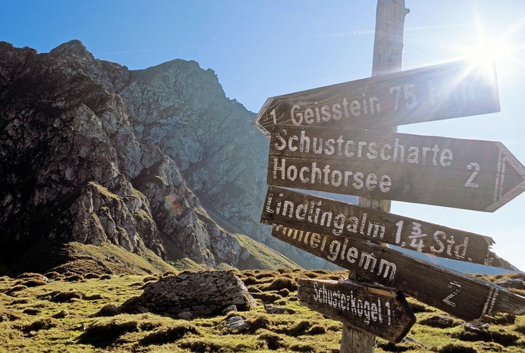 Wandern Saalbach Hinterglemm