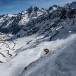 Skigebiet Kaunertal – Snowpark – Freerideing – unendlich breite Pisten