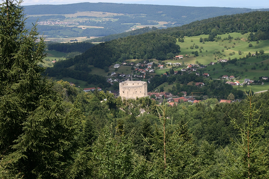 Der Gilgenberg im Schwarzbubenland