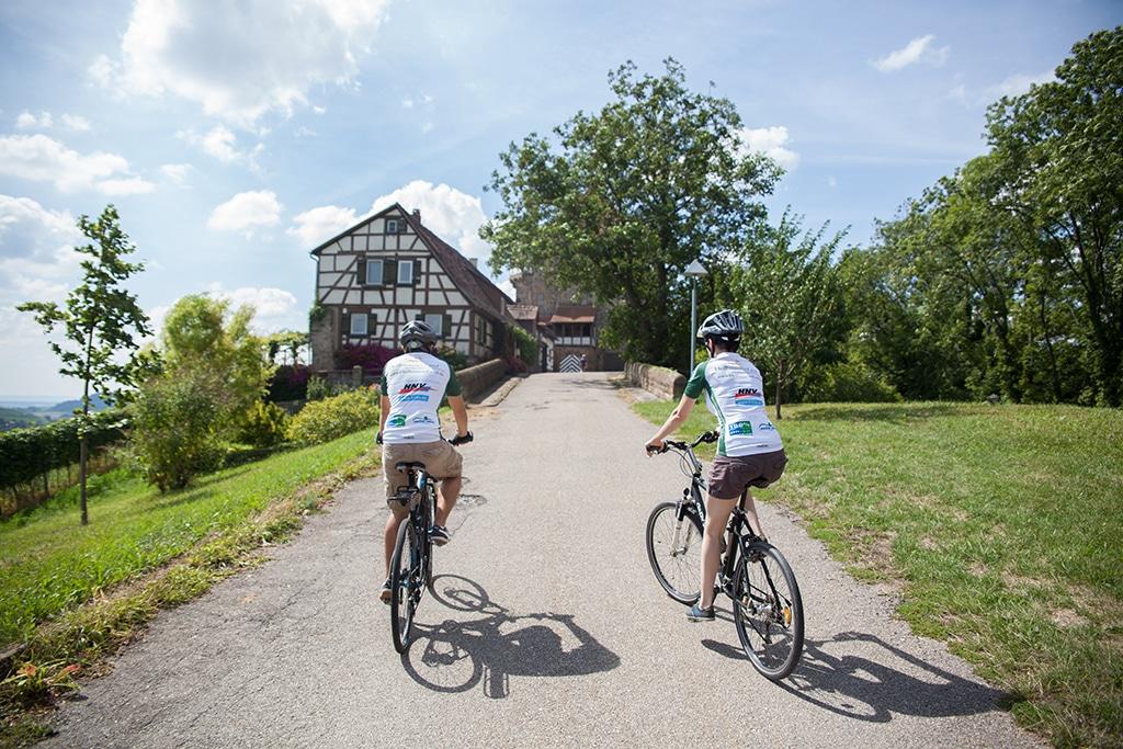 Der Kocher Jagst Radweg im Heilbronner Land