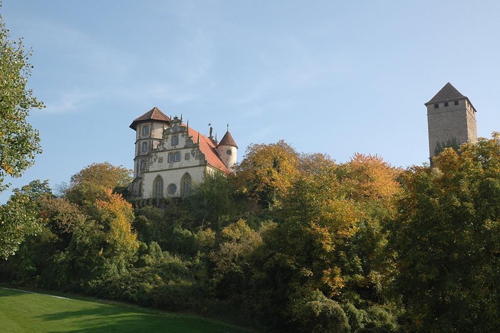 Blick auf Schloss Liebenstein in Neckarwestheim (c) Touristikgemeinschaft HeilbronnerLand