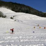 Die Skilifte Weißbach Schneizlreuth an der Alpenstraße