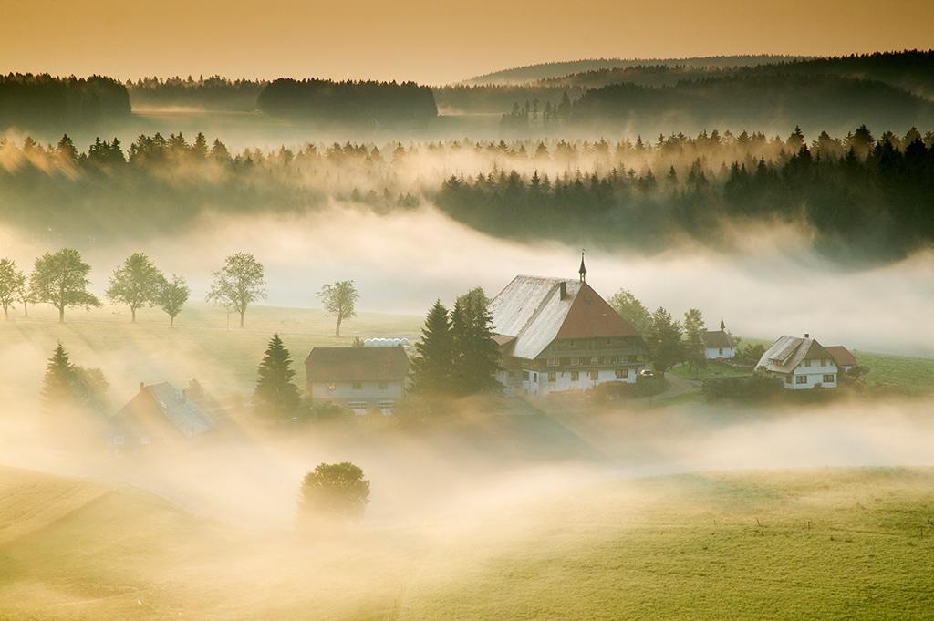 """Deutschland,Schwarzwald,bei Furtwangen,Bauernhof """"Fallerhof"""""""