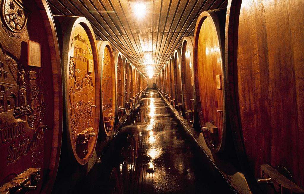 Weinfässer Breisach