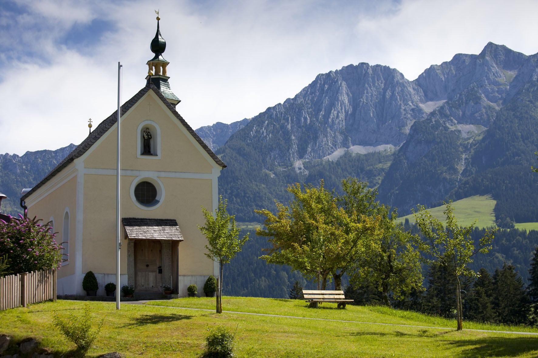 Kapelle im Kaiserwinkl