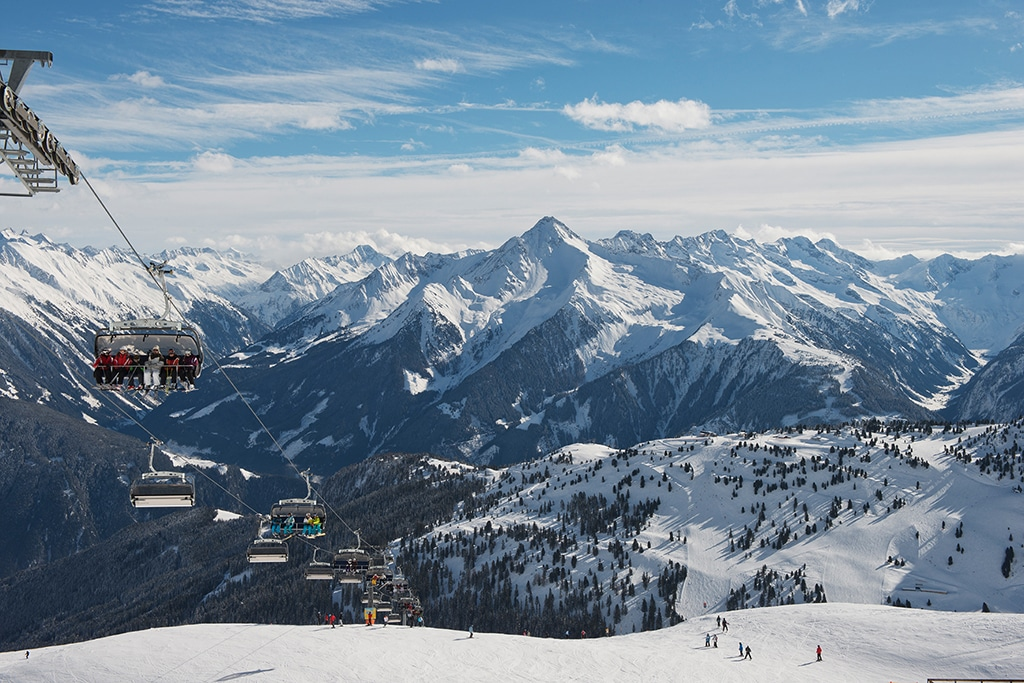 Skigebiet Mayrhofen Zillertal