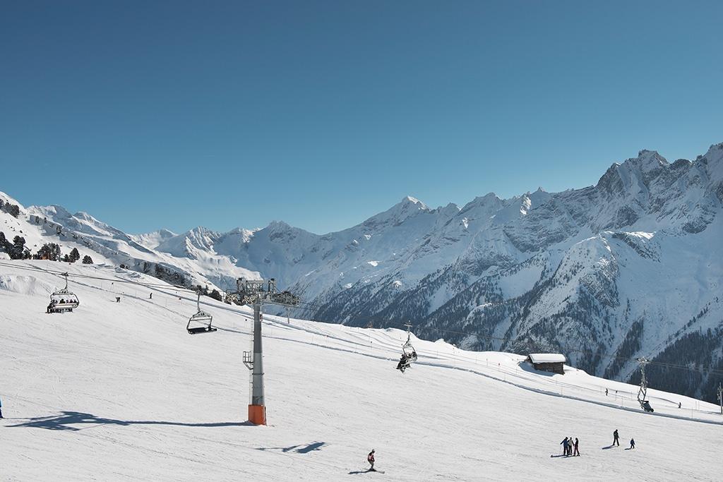 Mayrhofen Zillertal Skigebiet