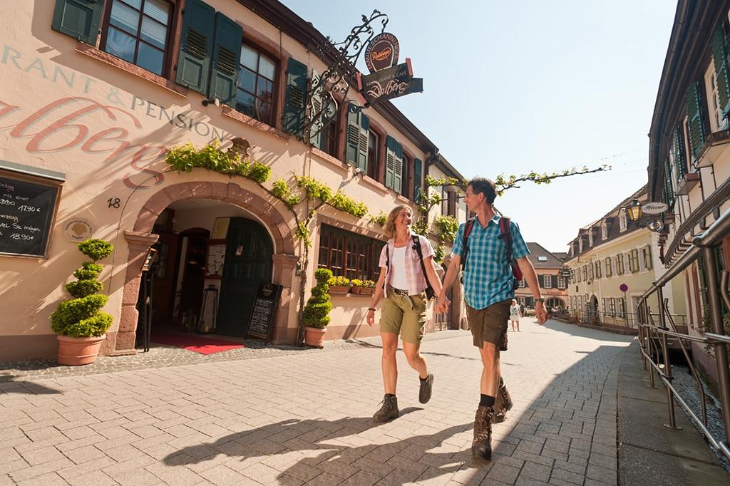 Wandern auf dem Pfälzer Weinsteig / St. Martin