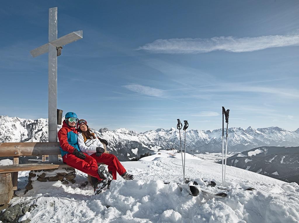 Skifahren Saalfelden Leogang