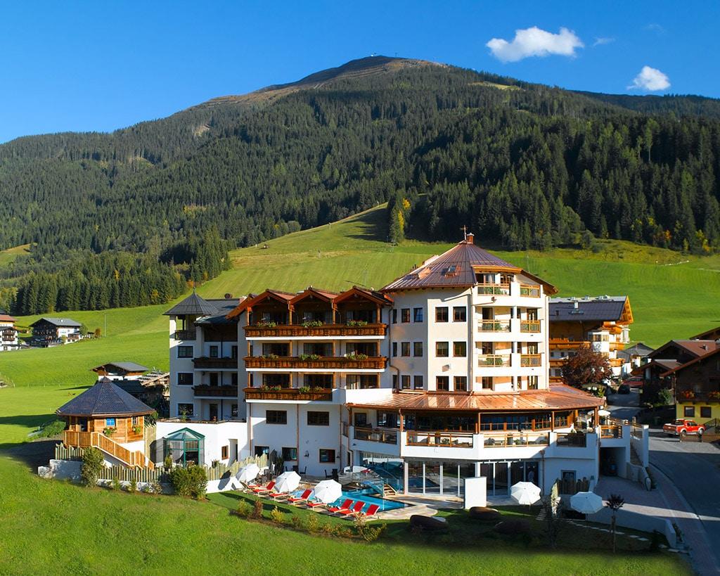 Hotel unterschwarzachhof in saalbach hinterglemm for Designhotel hinterglemm