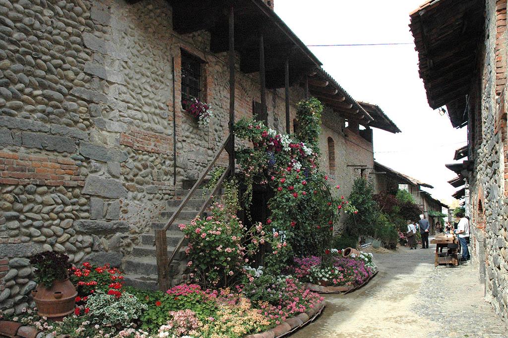 Das Piemont im Norden von Italien