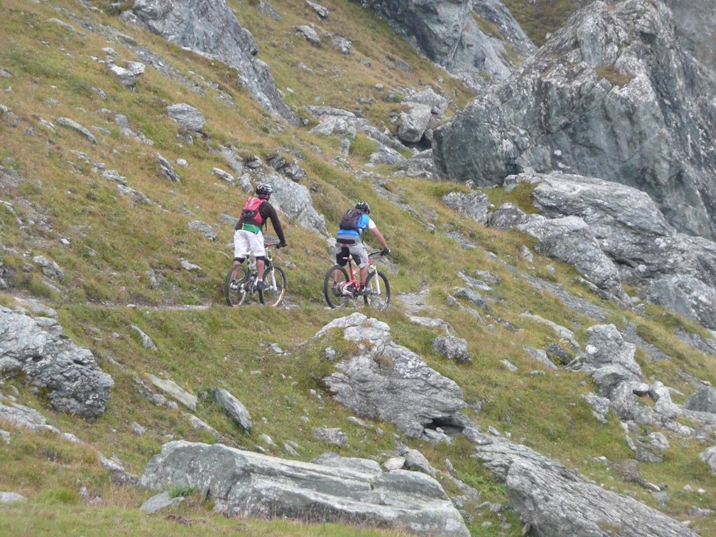 Biken im Piemont