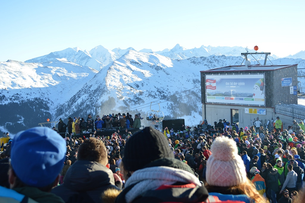 Rave and Snow in Saalbach Hintgerglemm