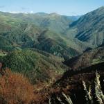 Mountainbiken in den Piemonter Bergen in Norditalien