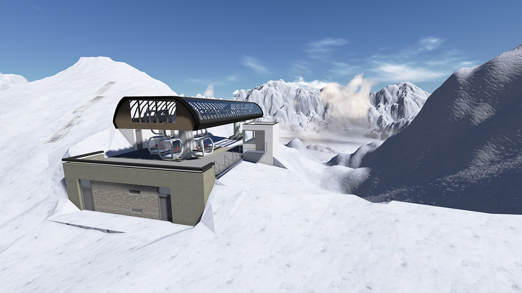 Silvretta Montafon Skigebiet