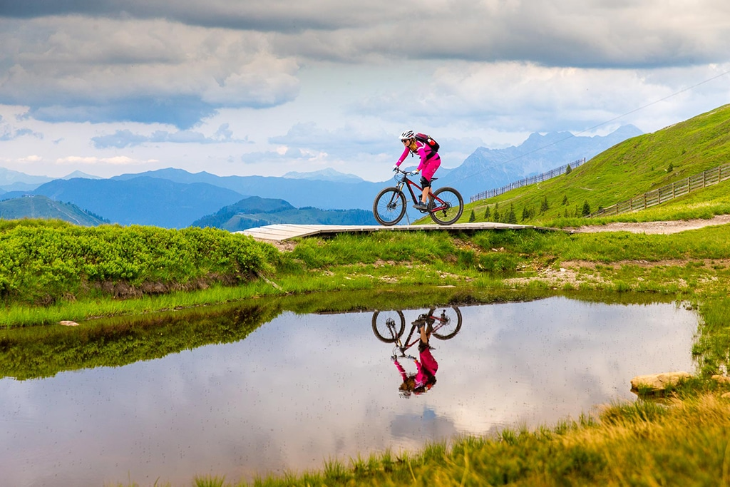 Womans Camp Mountainbike