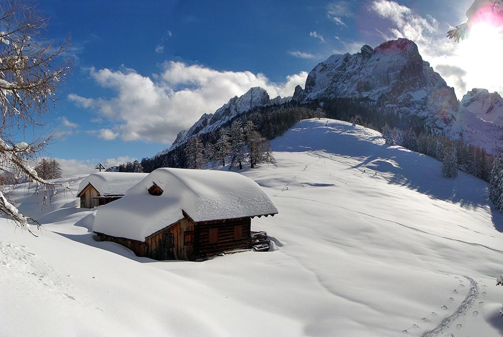 Traumhafte Schneelandschaft in Osttirol