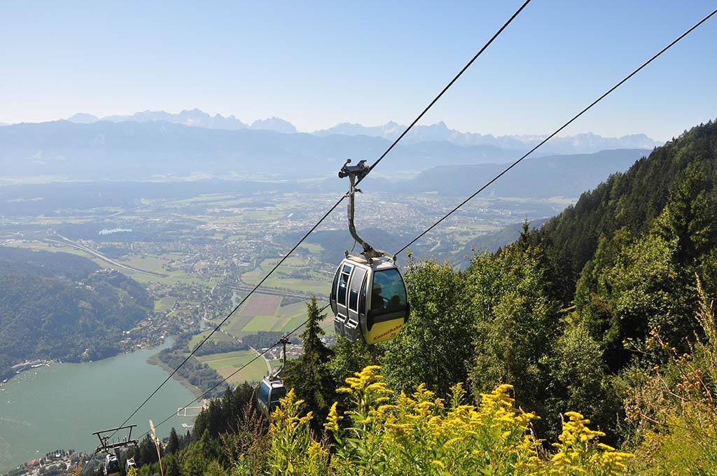 Kanzelbahn in Kärnten
