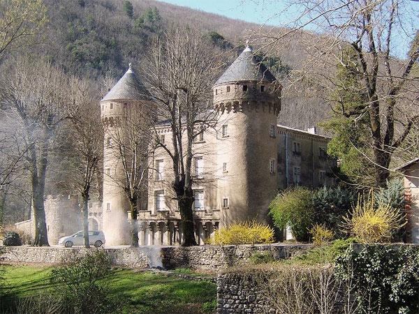 Chateau du Rey in den Cevennen