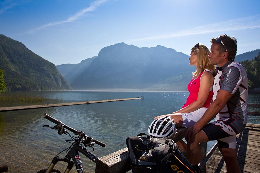 Mountainbike im Salzkammergut