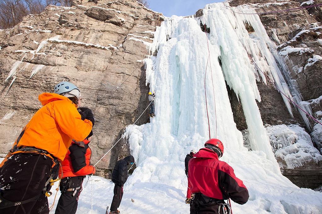 Eiskletterkurs Bergschule