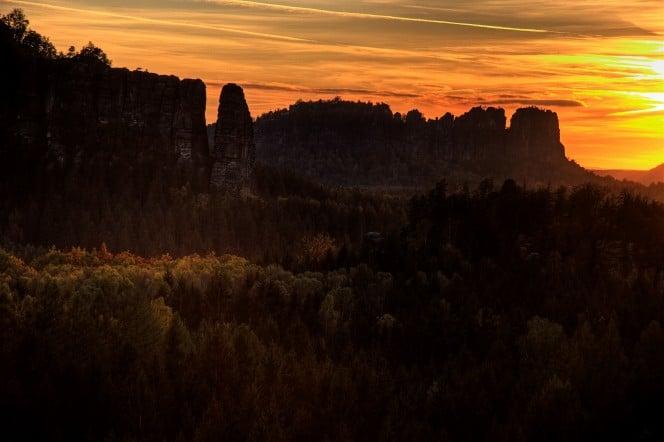 Elbsandsteingebirge Wandern
