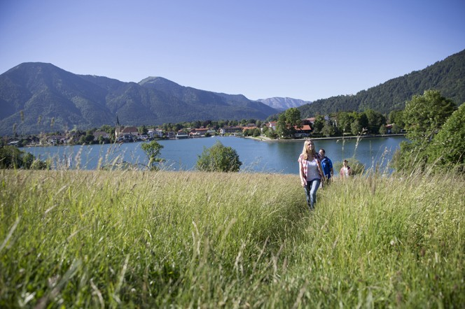 Erholung finden beim Wandern am Schliersee