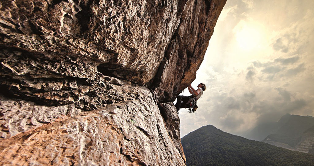 Klettern im Piemont