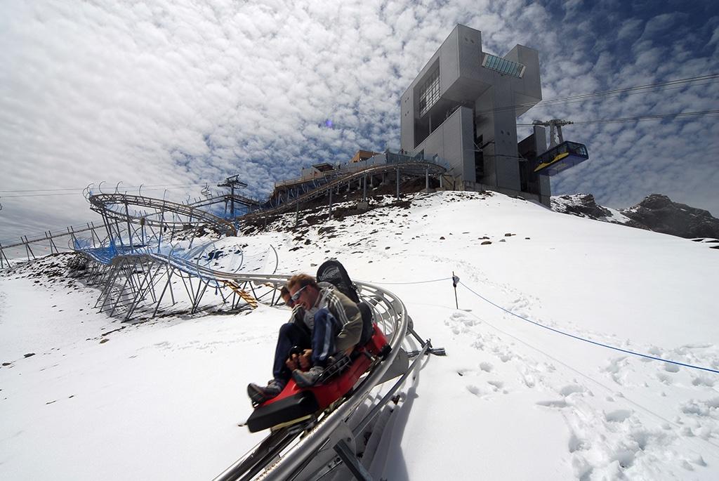 Alpincoaster Glacier 3000