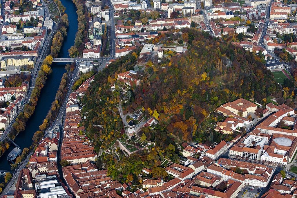 Dachlandschaften von Graz