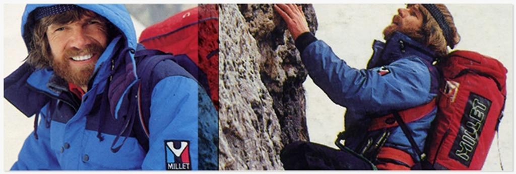 Millet und Reinhold Messner