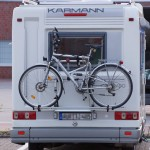Auto Fahrradträger beim normalen Fahrrad und beim Ebike