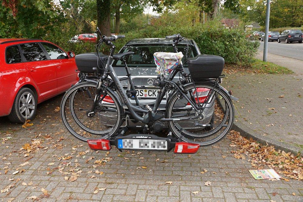 Heckbefestigung Fahrrad