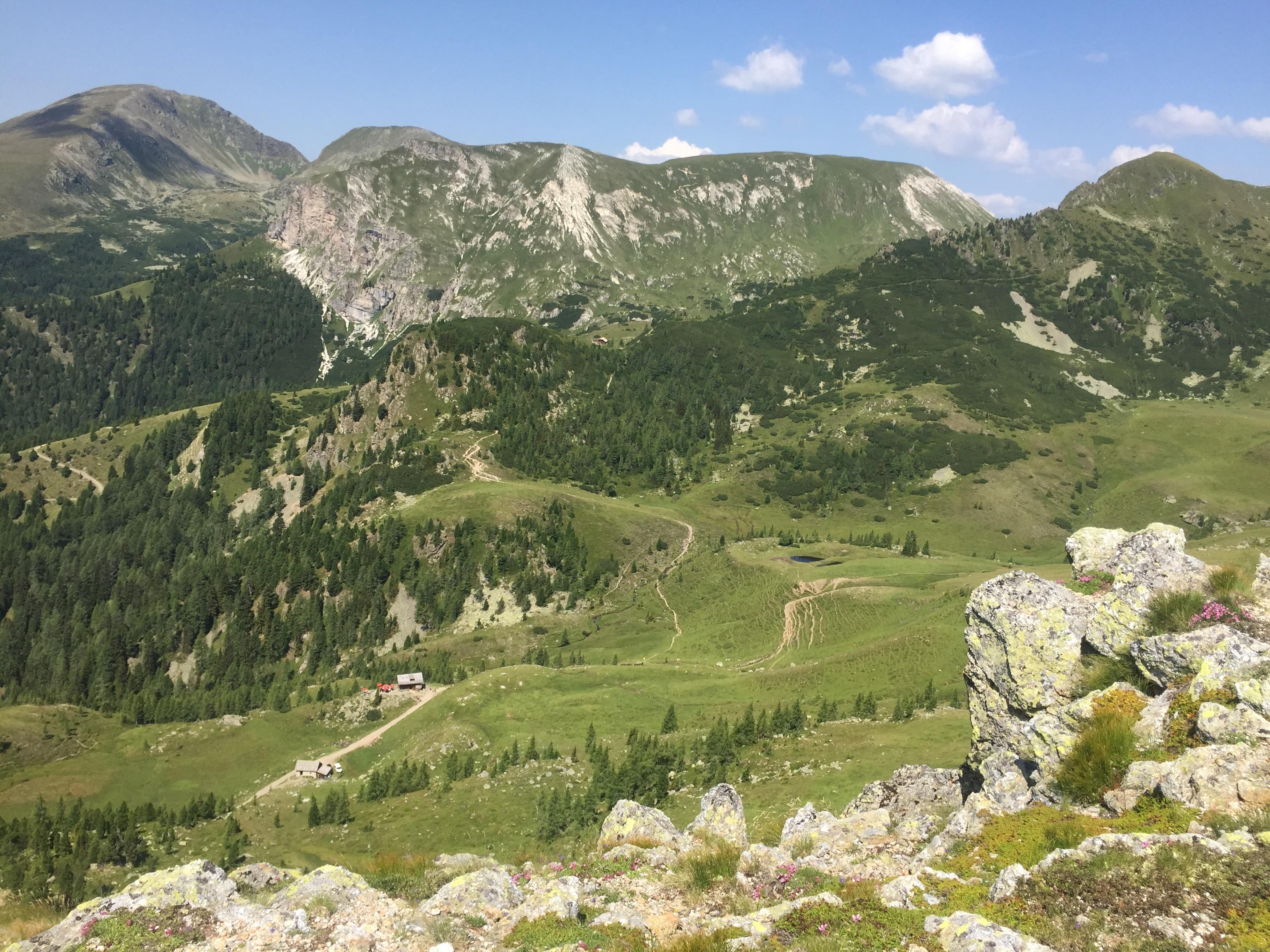 Die Nockberge in Kärnten