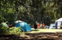 Wandern und Camping
